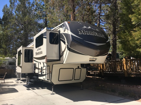 RV For Sale By Owner – $ 62,000 – Lot 55 Big Bear Shores